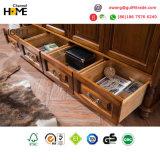 Стиль Americian старинной деревянной конструкции шкаф для спальни мебель (HC911)