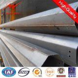 Obenliegende Zeile Übertragungs-Stahl Pole