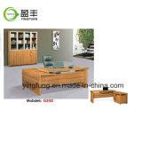 Moderne Möbel-hölzerner lederner Büro-Schreibtisch Yf-G3102