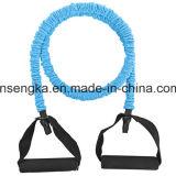 Figura del corpo di addestramento di ginnastica della corda della fascia di resistenza di concentrazione di alta qualità