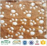 Microfiber korallenrotes Vlies-Tuch-korallenrote Vlies-Zudecke