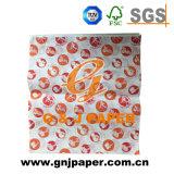 Papel de embalaje resistente de la hoja de la hamburguesa de la venta de la grasa de encargo caliente de la marca de fábrica
