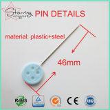 Commerce de gros bouton en plastique de 40 mm la tête de la couture des broches pour la couture