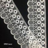 8,5 cm Venise dentelle florale applique Couture nuptiale de garniture de mariage applique Snow White Ball Hmhb1100 de fraisage