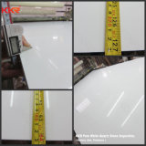 Quarzo di pietra costruito bianco puro per le mattonelle di pavimento