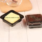 Personnaliser clairement le gâteau empaquetant le cadre en plastique de cuvette (l'usine de la Chine)