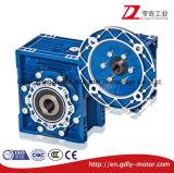Gussaluminium-Endlosschrauben-Gang-Geschwindigkeits-Reduzierstück-Doppelt-Stadiums-Getriebe