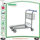 4 roues chariot Heavy Duty Chariot de transport de fret de l'entrepôt