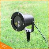Luz solar do projector da lâmpada da decoração do feriado do Natal do jardim da lâmpada solar ao ar livre da paisagem do laser