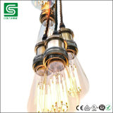 Tipo industriale del supporto E27 della lampadina del metallo dell'annata per la decorazione