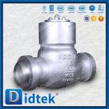 Задерживающий клапан качания сварки в стык уплотнения давления стали сплава Didtek