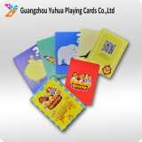 Tarjetas educativas de papel de gama alta Flashcards de las tarjetas que juegan