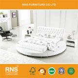[أ926] حديثة غرفة نوم أثاث لازم سرير بيضاء مستديرة