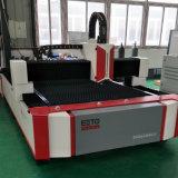 tagliatrice del laser della fibra di CNC 1000W con la singola Tabella (EETO-FLS3015)
