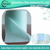 아기 기저귀 성숙한 기저귀 원료 (LS-WS125)를 위한 최고 급료 탄력 있는 허리띠