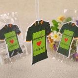 Tシャツの形によってカスタマイズされる芳香ハング車のペーパー芳香剤(YH-AF518)