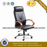 現代BIFMAのアルミニウム革主任のオフィスの椅子(HX-OR003B)