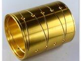 真鍮の回転アクセサリの回転金属部分CNCの機械化の一致