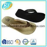 女性のエヴァの物質的な夏浜の慰めの皮ひものスライドのサンダルのための双安定回路