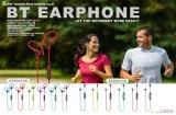 イヤホーンのBluetoothのイヤホーンの快適な身に着けている無線電信