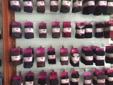 Baumwolle/Nylon 96n sondern Cyliner Punkt-Greifer-Baby-Socke aus