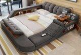 Модульный Многофункциональная мягкая ткань King-Size кровать