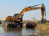 水中で使用される水陸両用掘削機のための高品質のポンツーン