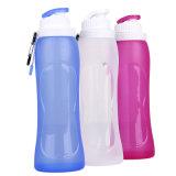 500 мл портативный съемные силиконового герметика спорта бутылка воды для походов