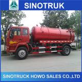 販売のためのSinotruk 4X2 HOWOの吸引のタイプ下水道の清掃動物