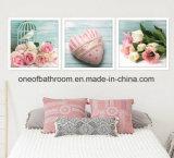 Fotos de hermosas flores colgantes de pared con marco para la decoración