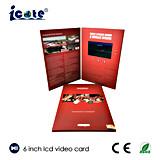 6 Zoll LCD-videobroschüre für das Geschäfts-Bekanntmachen