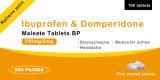 Ibuprofen de médecine de Westren et Maleate de Domperidone Westren Pharma pour l'être humain