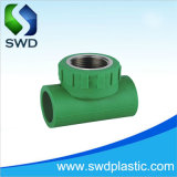 Copper를 가진 DIN8077-8078 PPR Pipe Fittings Female Tee