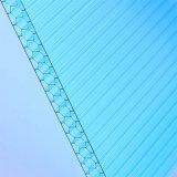 8mm See-blaues hohles Bienenwabe-Polycarbonat-Blatt für Dach