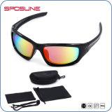 Motocicleta de ciclagem protetora polarizada dos óculos de sol dos homens Shatterproof da qualidade superior 400 UV que conduz Eyeglasses Golfing de funcionamento