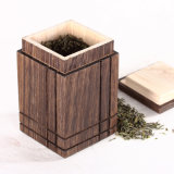 [هيغقوليتي] مربّعة [بولوونيا] خشبيّة شاي صندوق شاي [ستورج تنك]