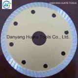 Flansch-Turbo-Diamant Sägeblatt, Flansch Sägeblätter für scharfen Ausschnitt