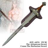 Conan as espadas bárbaras do filme das espadas com chapa 97cm Jot-A87g