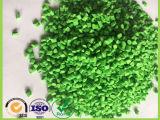 Зерна пластмассы HDPE девственницы Masterbatch зеленого цвета