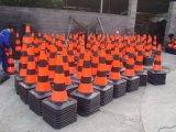 Cono riflettente resistente di traffico di Black&Orange 750mm del mercato di Israle