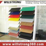 3мм алюминиевых композитных панелей для визуальной рекламы с различных цветов