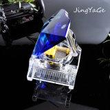Piano cristalino del regalo cristalino de los recuerdos para los regalos de Brithday