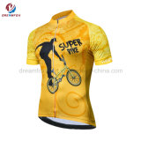 Cheap Custom Cycling jersey Sublimated polyester Cycling Wear for Kids