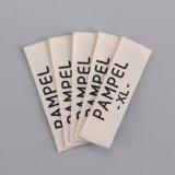 Contrassegni stampati cotone caldo personalizzati dell'indumento del taglio di marca per vestiti