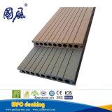Panneau de plancher composé de Decking creux de WPC 160*22mm