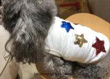 싼 별 개는 형식 여름 애완 동물 의복 개 t-셔츠 애완 동물 t-셔츠를 입는다