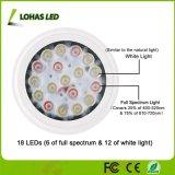 Amplio espectro de luz blanca crecer LED 20W Bombilla de luz natural de las plantas de gases de efecto de la Jardinería