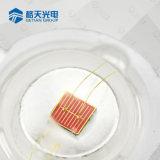빨간 구리 기초 1W 3W 585-595nm 노란 호박색 LED 칩