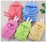 Bebê do hotel/os Home do algodão/veludo/crianças/miúdos/Bathrobes encapuçados relativos à promoção do bebê/pijama/Nightwear