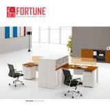 MFC clásico de cuatro personas de la madera de estaciones de trabajo de oficina en venta (FOH-R3214-A)